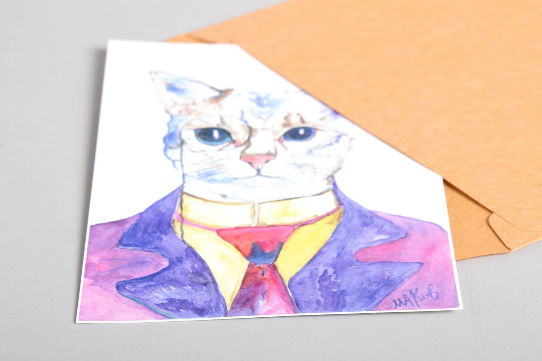 Handmade greeting card postcard ideas gifts for friends souvenir ideas  photo 4