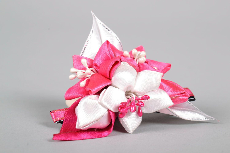 Satin hair clip Bouquet photo 4