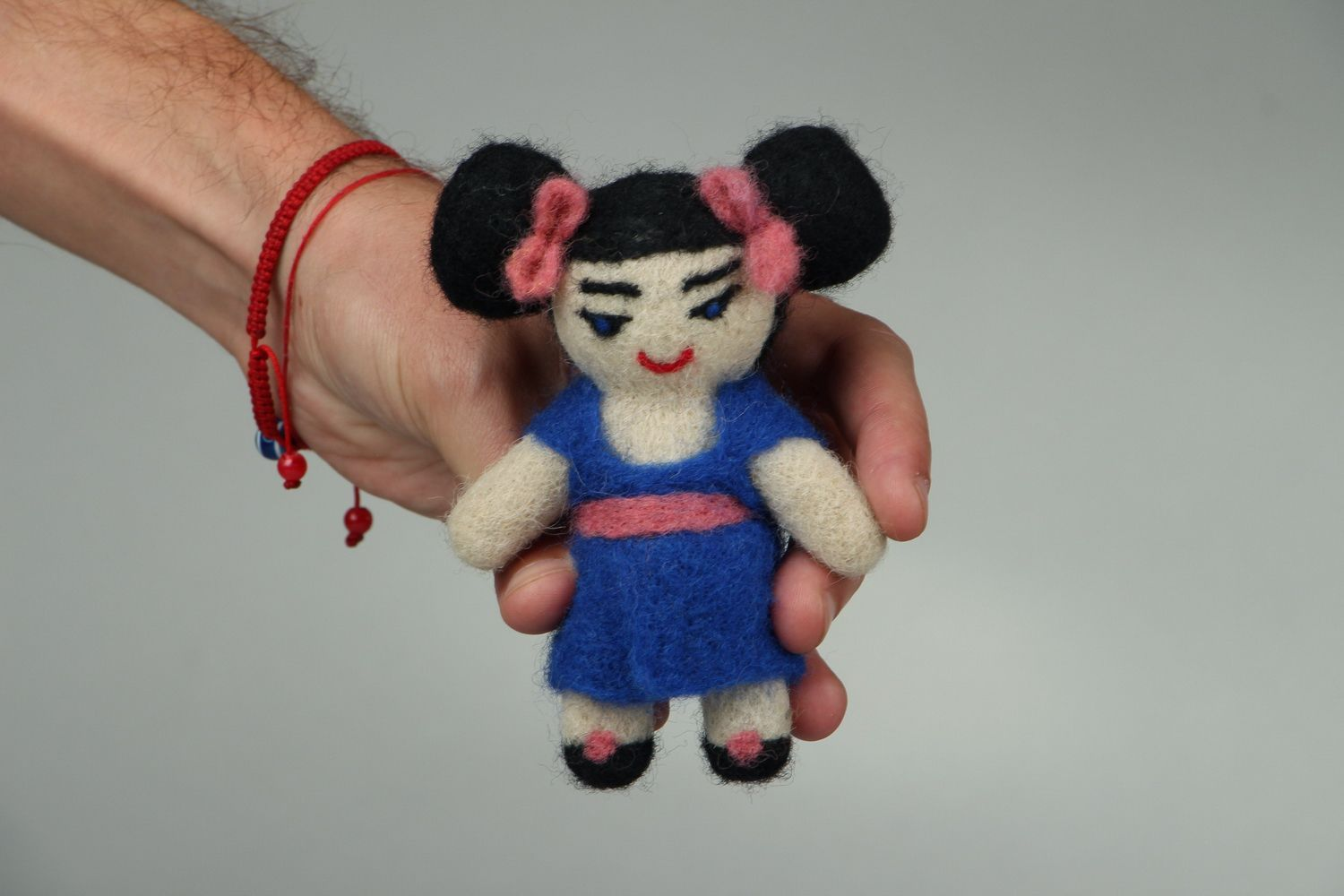 Designer's toy made of wool Japanese photo 4