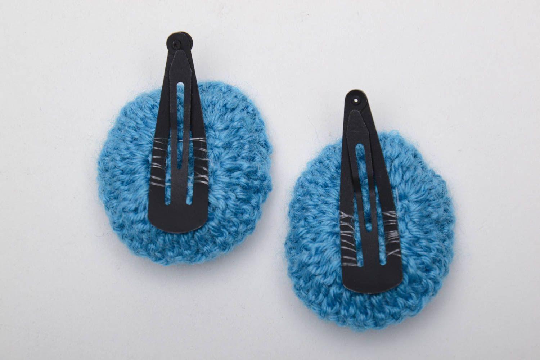 Blaue Haarspangen Set foto 4