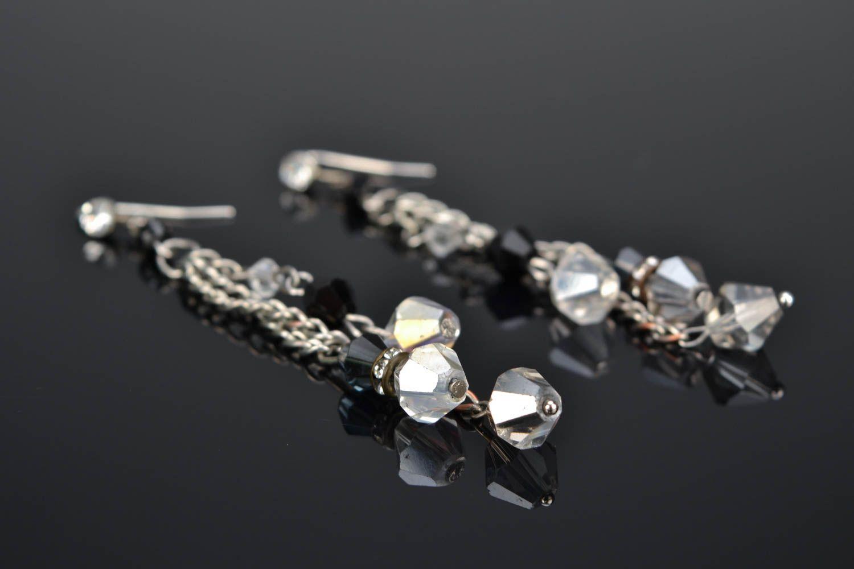 Long beaded earrings photo 1