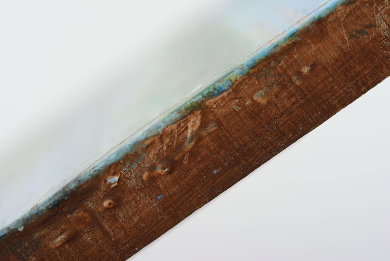 Wooden fridge magnet Birches photo 5