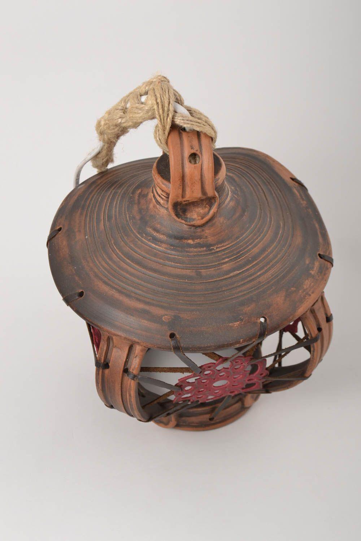 lighting Handmade lamp  ceramic decoration for home handmade decor accessory for home  - MADEheart.com
