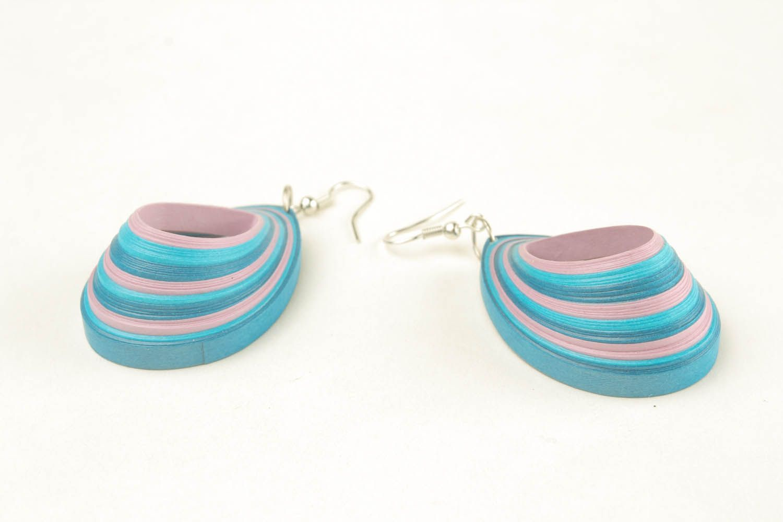 Earrings Sea Wave photo 4