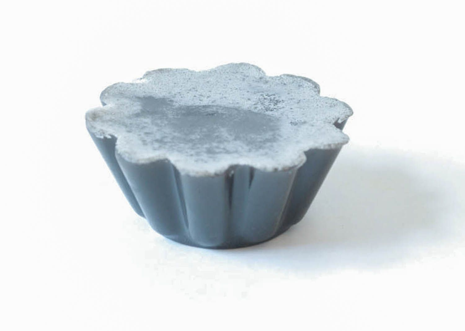 Soap with black clay photo 2