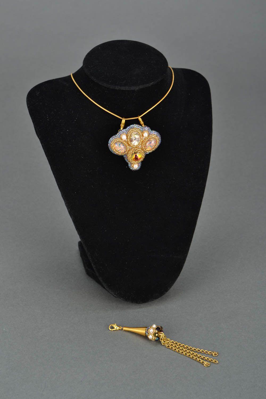 Handmade pendant transformer Pava photo 2
