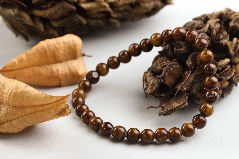 Unusual handmade beaded bracelet gemstone bracelets for women gifts for her photo 1