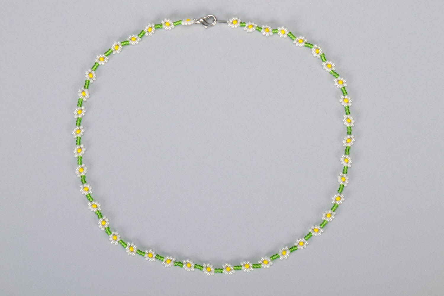 Beaded necklace-bracelet photo 2