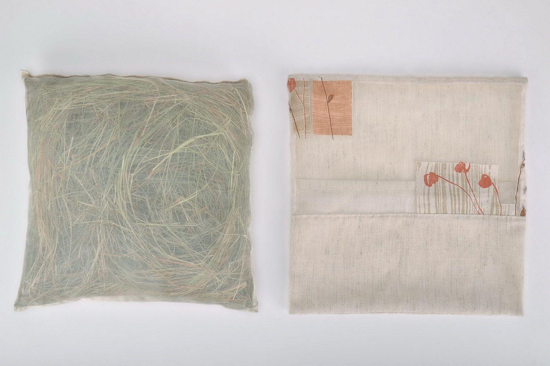 Herbal pillow in a cotton pillowcase photo 4