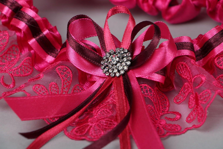 clothes Lilac bridal garter - MADEheart.com