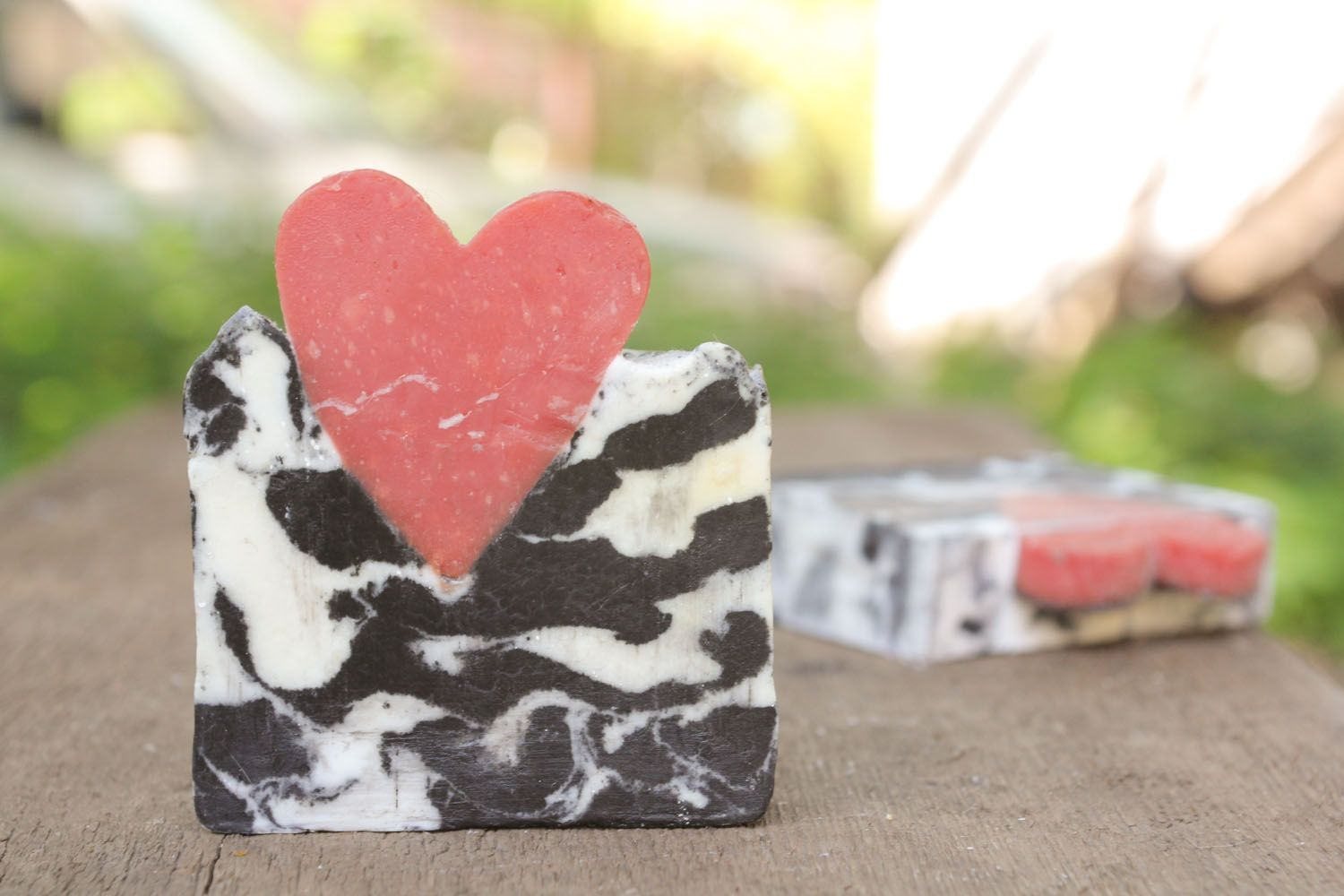 Soap with grape and apricot seeds photo 5