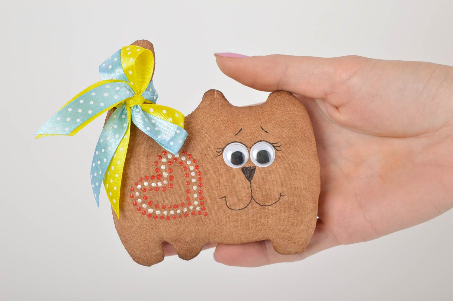 Handmade home decor fridge magnet soft toy animal toy for decorative use only photo 4