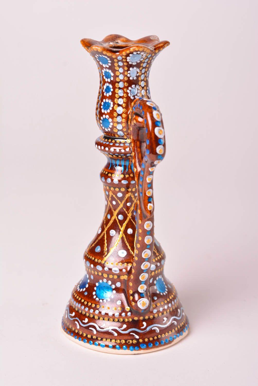 Bougeoir fait main Support bougie céramique avec peinture Déco maison cadeau 1459103183 - BUY ...
