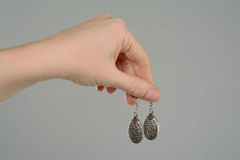 Ohrringe aus Metall Byzanz foto 5