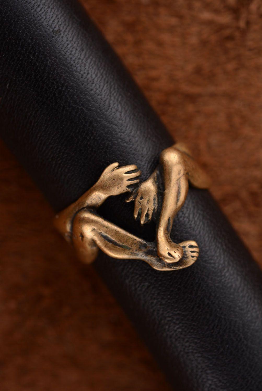 Кольцо из бронзы Вечность фото 3