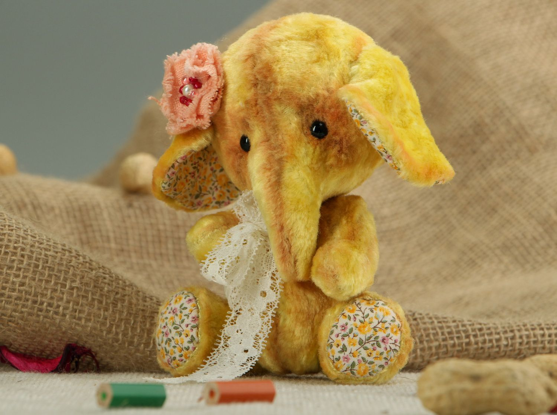 soft toys Plush Teddy elephant - MADEheart.com