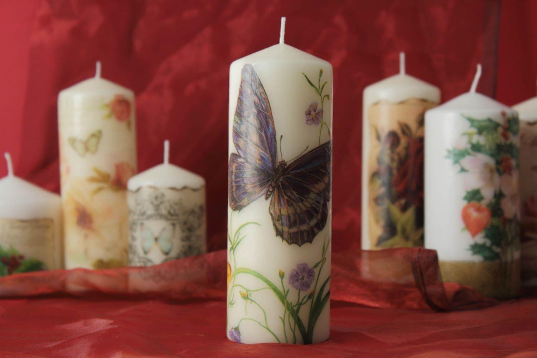 Как самому сделать свечу из старой свечи
