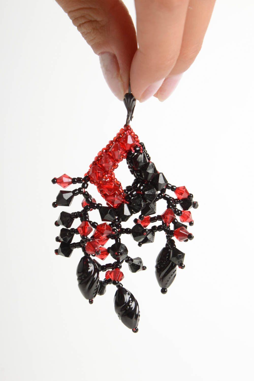 Designer jewelry handmade beaded earrings stylish beautiful earrings photo 2