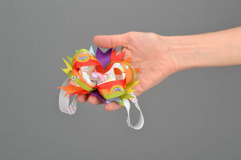 Детская повязка Веселая радуга  фото 2