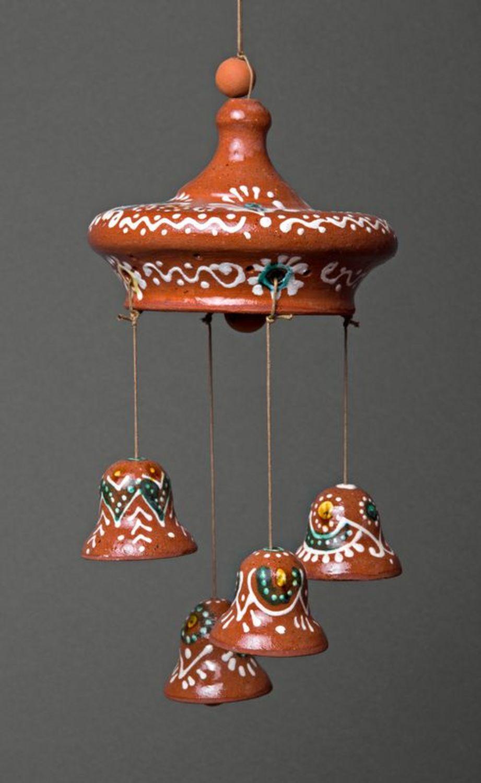Ceramic pendent bells  photo 1