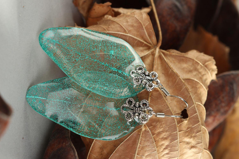 Handmade bracelet unusual bracelet for women gift ideas epoxy resin jewelry photo 1