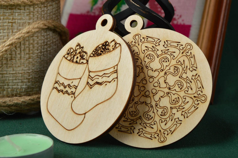 Madeheart colgantes decorativos artesanales adornos navide os manualidades en madera - Productos de madera para manualidades ...