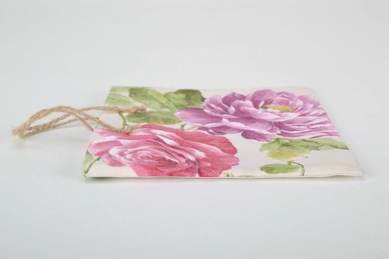 MADEHEART > Bolsa De Regalo De Algodón Con Dibujo Floral