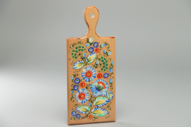Madeheart tabla para cortar de madera con pintura hecha - Decorar tabla madera ...