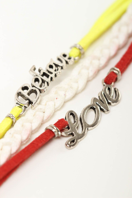 Unusual handmade leather bracelet wrist suede bracelet cool jewelry designs photo 2