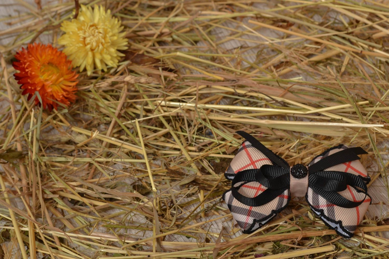 American bows made of ribbons photo 5