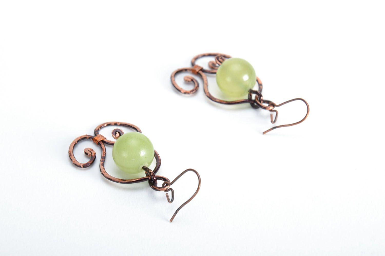 Elegant earrings with onyx photo 3