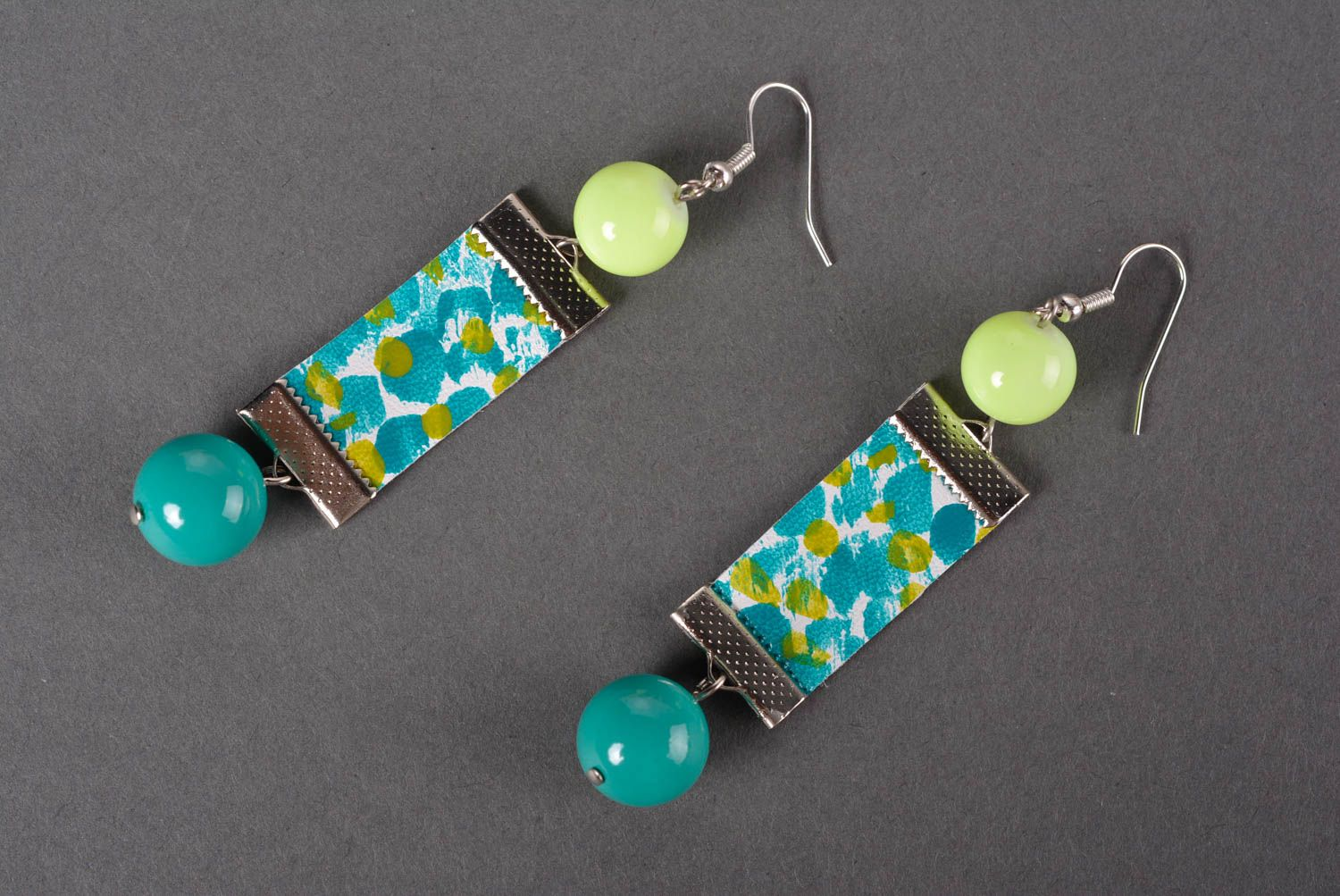 Stylish handmade leather earrings costume jewelry designs gifts for her photo 4