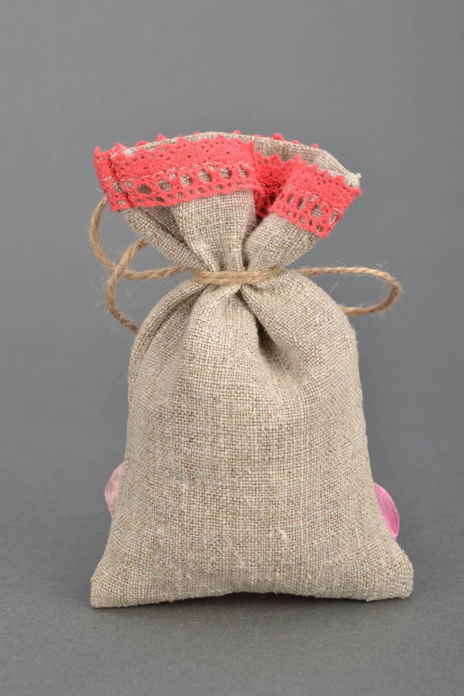 Linen sachet bag photo 4