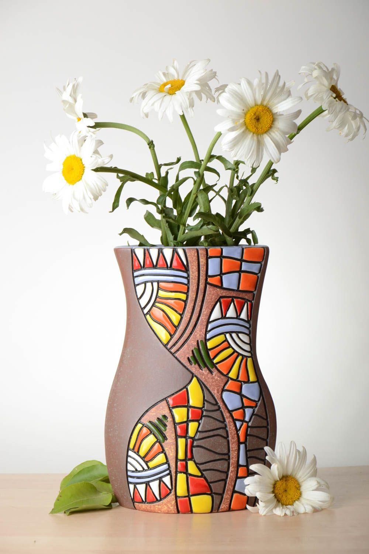 MADEHEART > Keramik Vase handmade Deko Wohnzimmer Haus Deko Vase aus ...