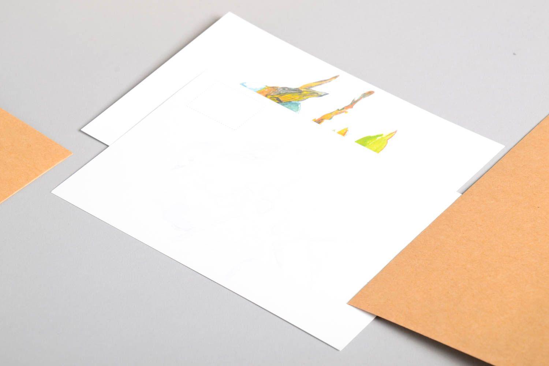 Handmade greeting card unusual gift ideas designer card for signature photo 3