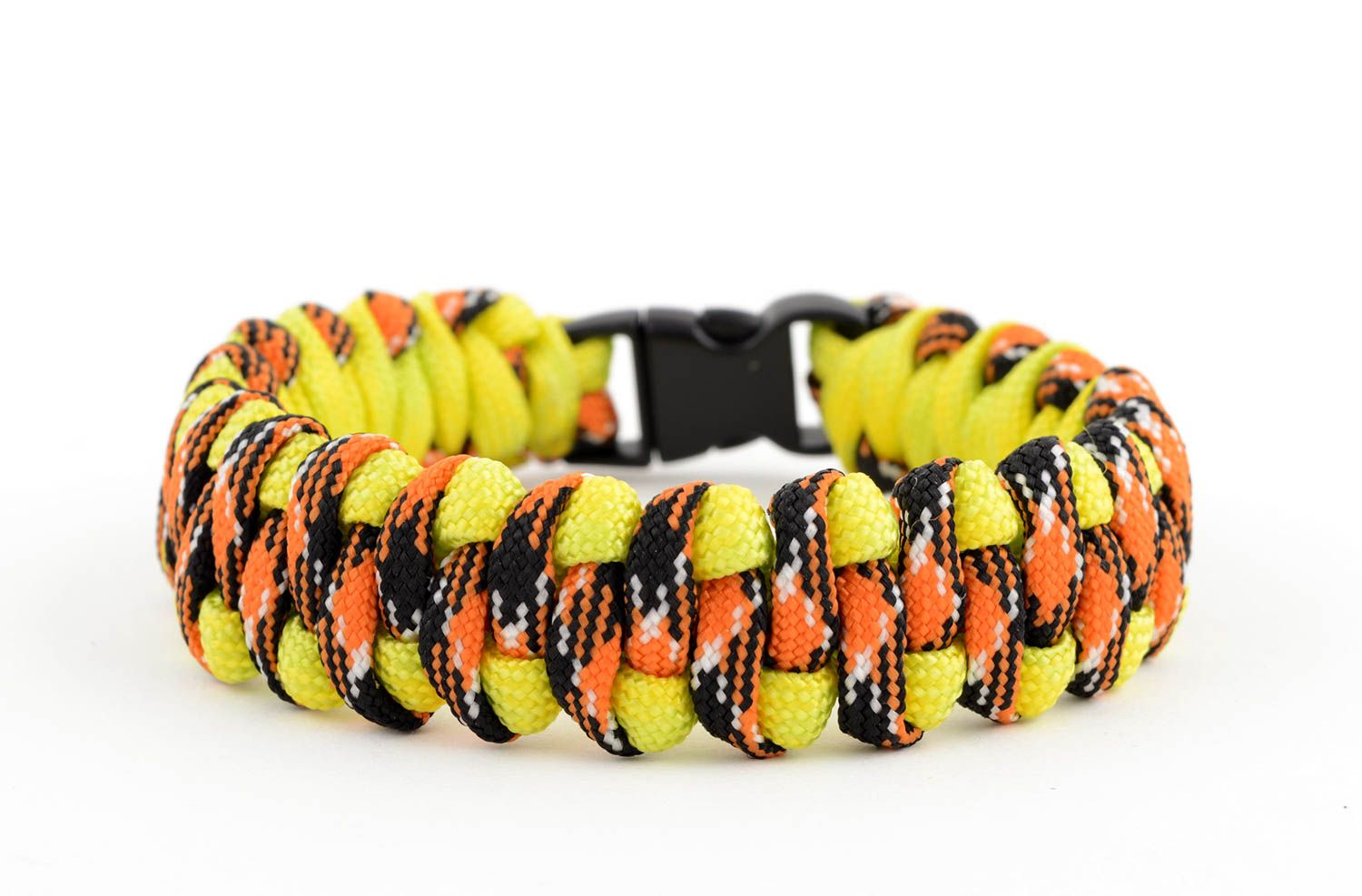 Handmade paracord bracelet parachute cord bracelet hiking equipment cool gifts photo 5