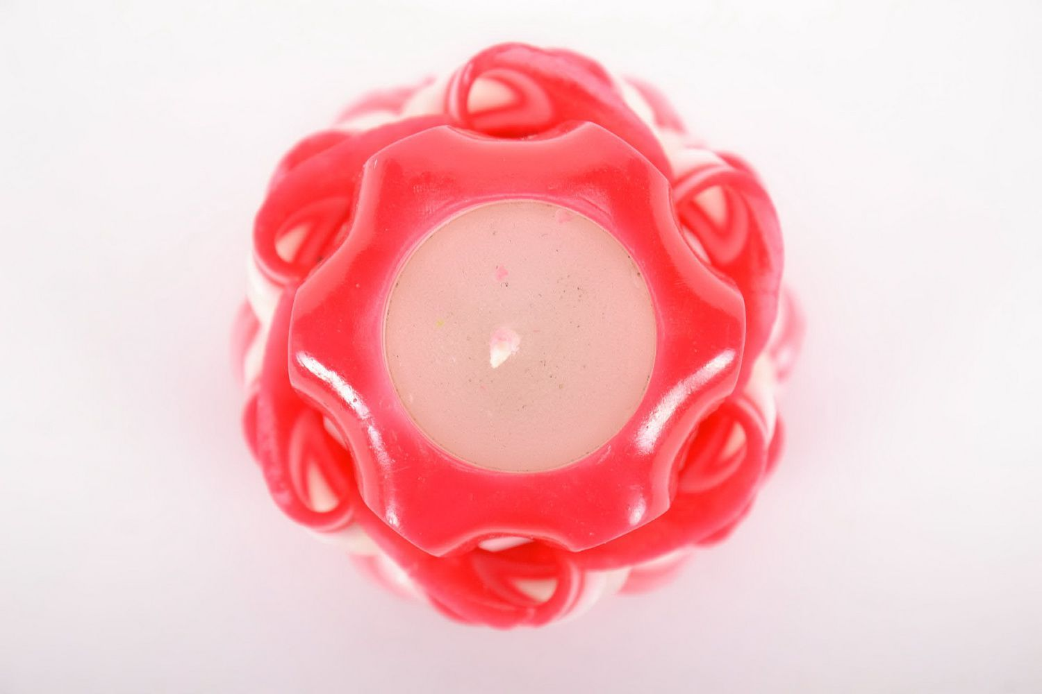handmade candles Carved candle made from wax