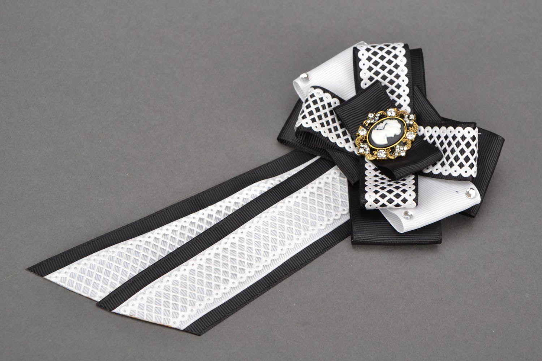 Haarklemmen-Set Brosche und Krawatte Eleganz foto 5