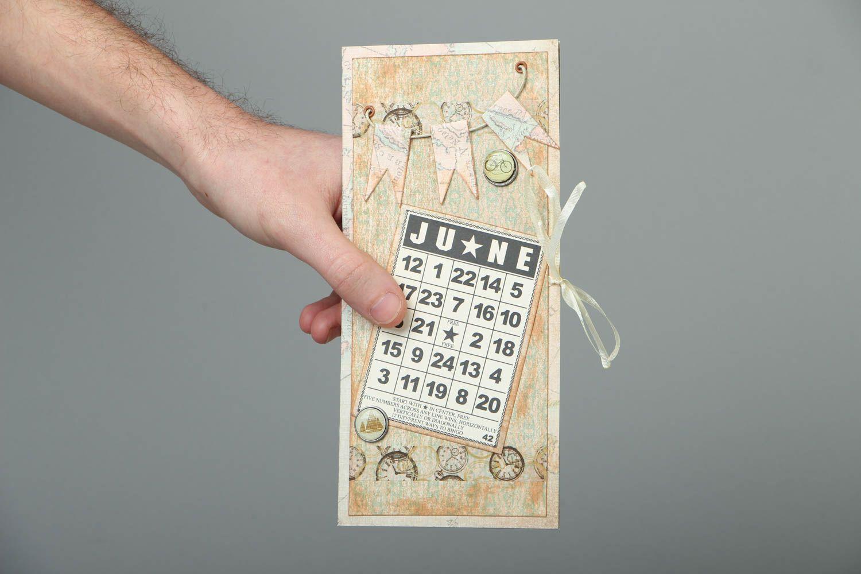 Homemade postcard for money June photo 3