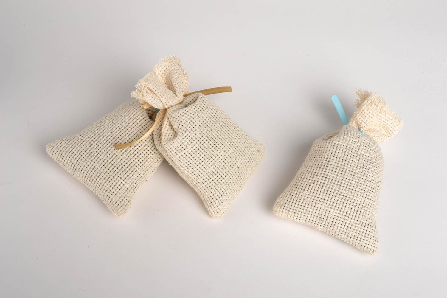 Handmade decorative sachet bag scented sachet bags 3 pieces small gifts photo 2