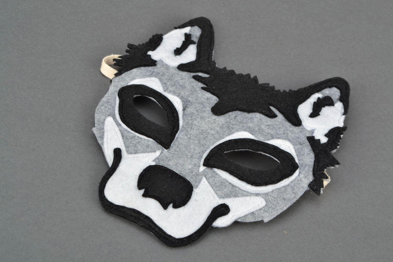 Как сделать маску из картона своими руками волк 9
