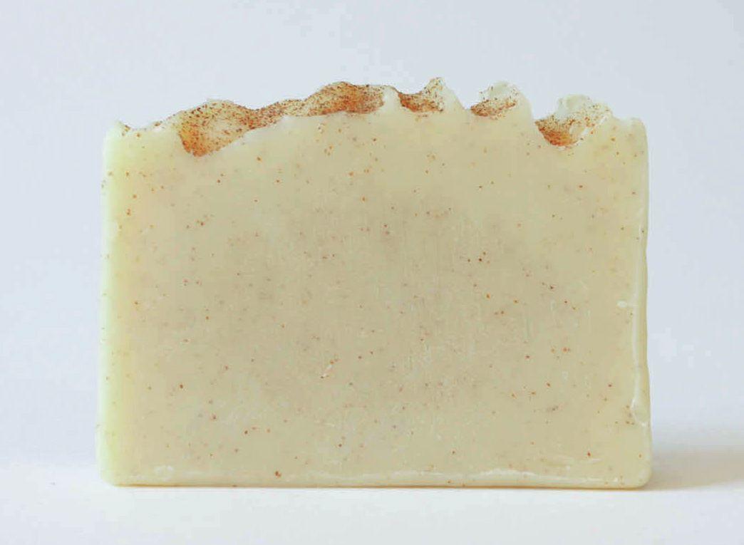 Handmade soap Almonds and goat milk photo 1
