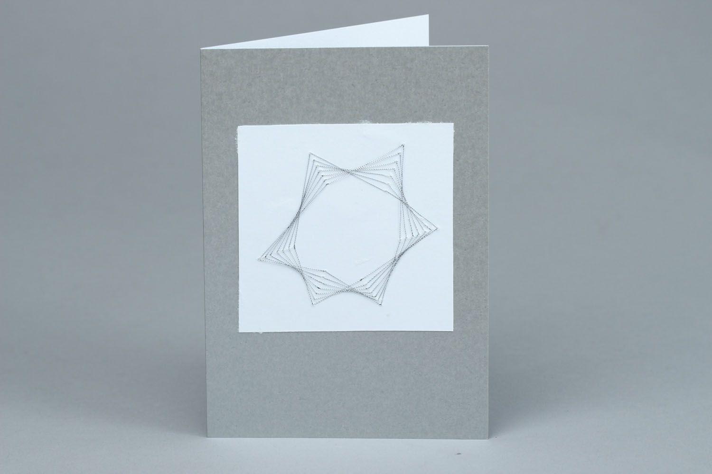 Izon postcard with envelope photo 1
