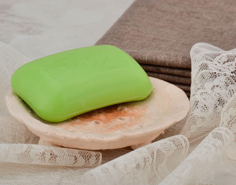 Clay soap dish, hand work photo 5