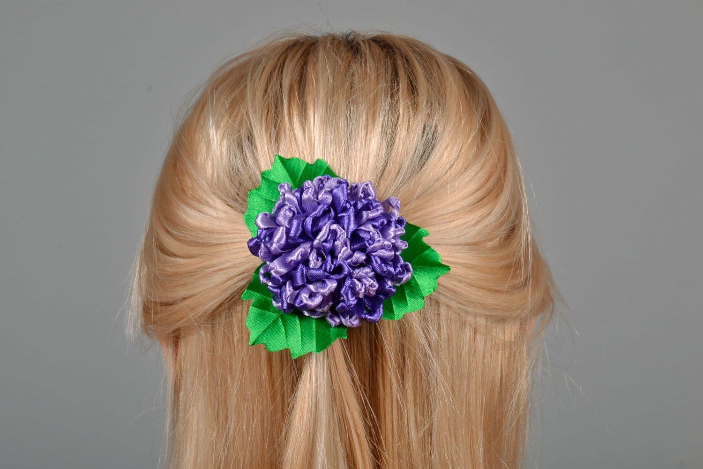 Hair clip Hydrangea photo 1
