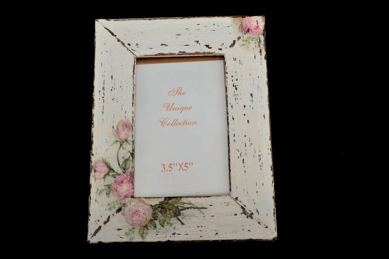 Unusual wooden photo frame handmade stylish photo frame home decor ideas photo 5