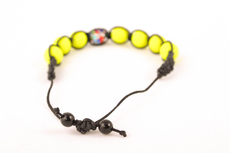 Unusual woven bracelet photo 2