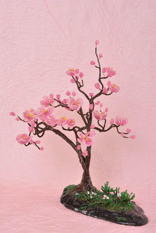 Фото сакуры из бисера и схема