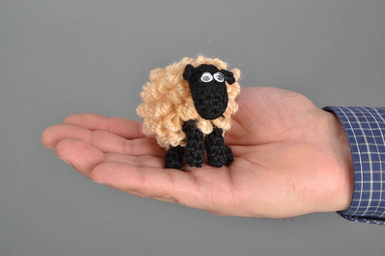 Вязание крючкомигрушка овечка 20