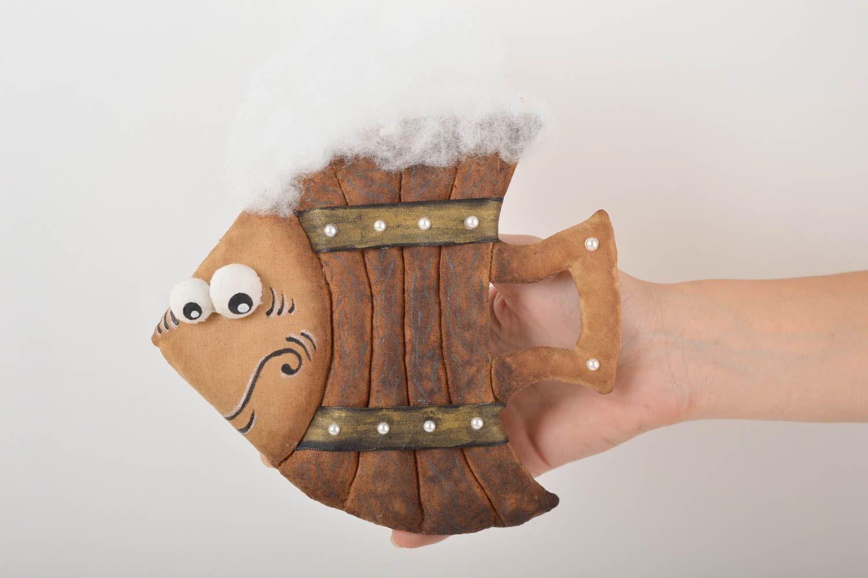 Beautiful lovely toy stylish unusual accessories designer handmade fish photo 5